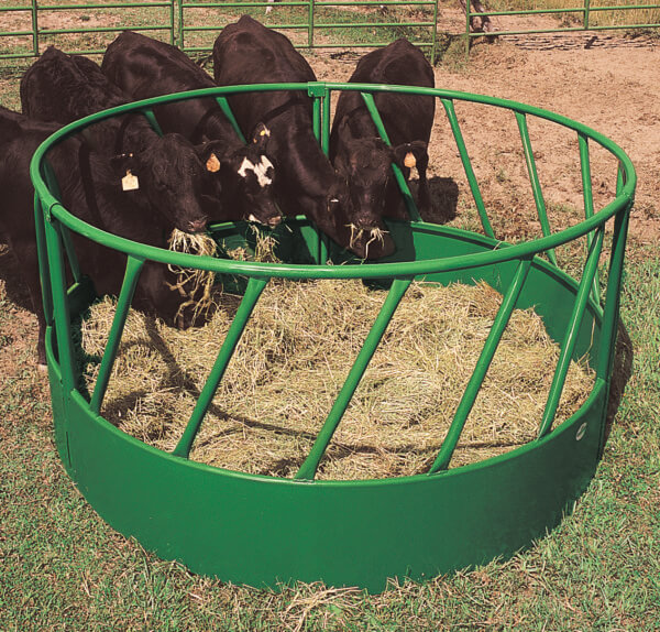 Slant Bar Round Bale Feeder